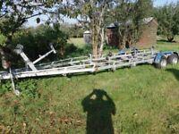Boat Trailer up 7 metre long 1900 kg
