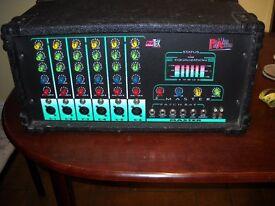 Pro tec p.a amplifier