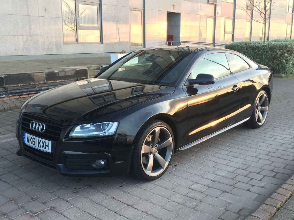 audi a5 coupe s line black edition 2 0 tdi in bonnington. Black Bedroom Furniture Sets. Home Design Ideas