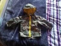 Child's 9-12month rain coat