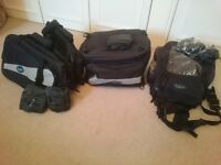 Quantum motorcycle luggage set