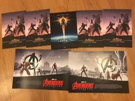 Avengers End Infinity War A4 A3 Odeon Posters