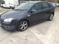 2008 57reg Ford Focus St 2.5 Turbo Grey 5 Door Remapped 80k miles