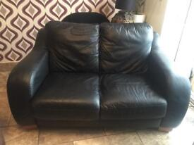 Real leather sofa in excellent condition