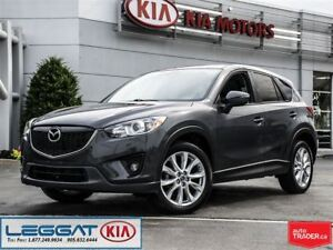 2015 Mazda CX-5 GT - Leather, Sunroof, Navi & More!