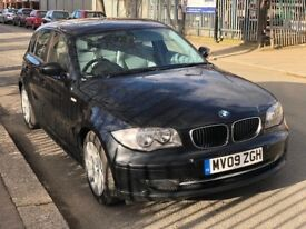BMW 1 SERIES 118D 2.0 SE DIESEL 2009 MANUAL WITH SERVICE HISTROY AND F