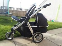 Oyster Max Double - Black colour pack - Silver chassis