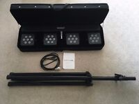 Band DJ Stage Lights with Stand + Footswitch (LightmaXX Platinum CLS 2)