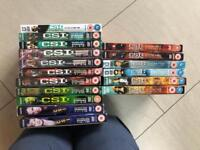 CSI and CSI Miami DVDs