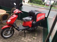 Delivery Scotter 125CC TGB - LOW MILAGE - FULL MOT 12 MONTHS - 2013