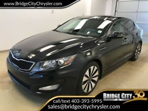 2012 Kia Optima SX- Panoramic Sunroof, Vented Seats!