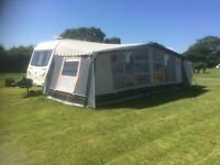 Bailey olympus 620 6 caravan