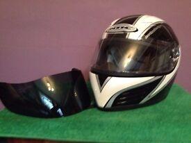 crash helmet kbc vr7 used