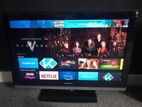 """Sharp 32"""" TV (Excellent Condition - No Remote)"""