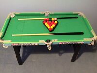 Chad Valley Child's pool/snooker table