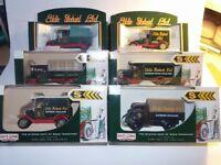 Eddie Stobart Boxed Vintage Vans x 6