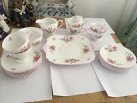 BEAUTIFUL SHELLEY 21 PIECE FINE BONE CHINA SET (May split see details) £548 o.n.o