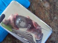 Apple ipod touch with cases and belkin accessory