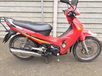 Honda innova 125 Piaggio Vespa moped scooter delivery gilera