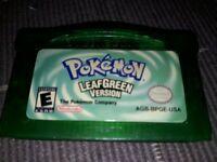 Genuine Pokemon LeafGreen