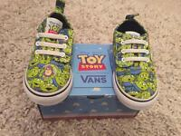 Toddlers New Toy Story Vans 5.5