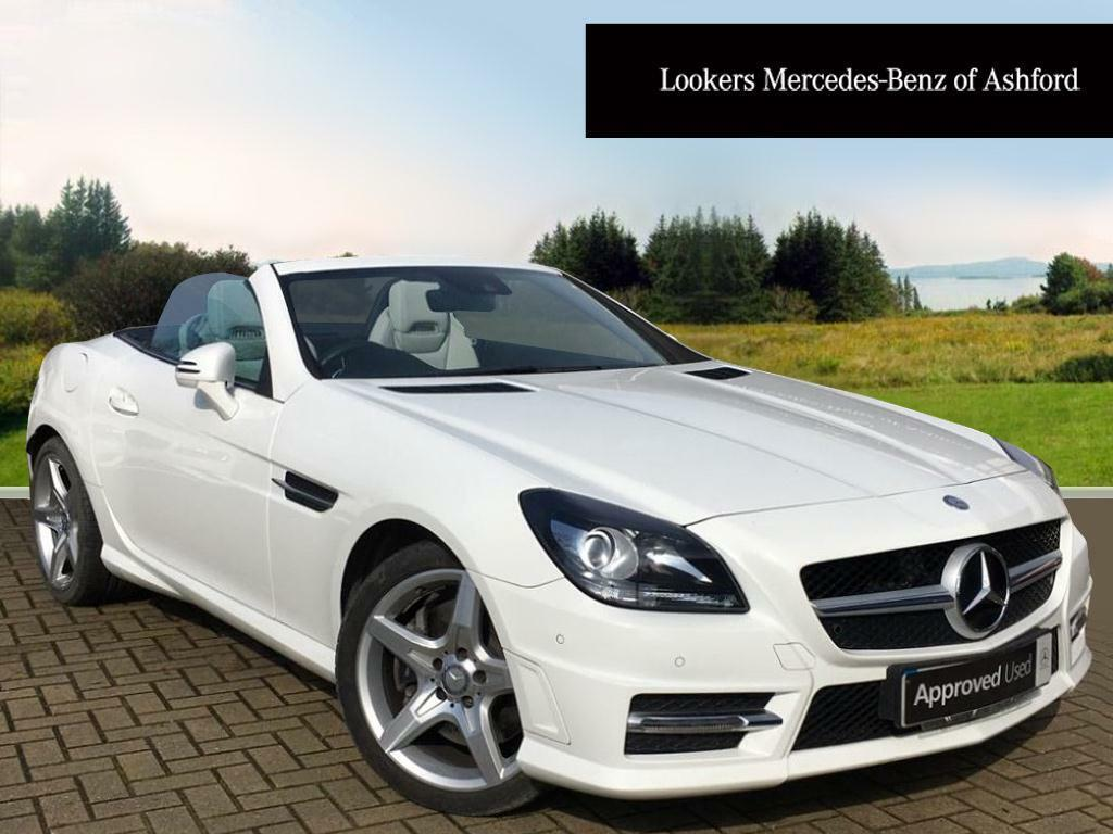 Mercedes Benz Slk Slk200 Blueefficiency Amg Sport White