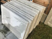 Kandla grey 900 x 600 mm patio slabs