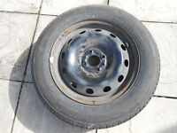 185 65 R15 Bridgestone Tyre And Wheel