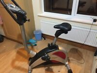 Exercise bike.Excellent condition .Selling due to relocation.Buyers needs to collect