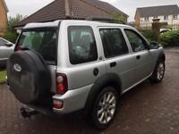 Land Rover freelander 2ltr td4 sport 04reg facelift model 4wd