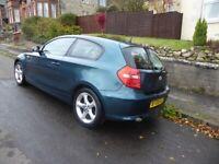 BMW, 1 SERIES, Hatchback, 2008, Manual, 1995 (cc), 3 doors