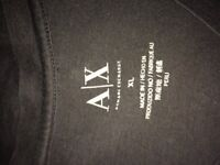 XL A/E Armani exchange t shirt