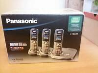 Panasonic Trio Dect Phones