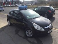 Vauxhall Corsa 1.2 i 16v Life 3dr,12 MONTHS MOT 8 SERVICE STAMPS ,2007 (07 reg), Hatchback