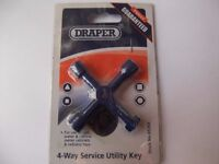 Brand New Draper Meter Box Key