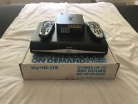 Sky+ Hd boxes and modem