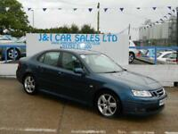 SAAB 9-3 2.0 VECTOR SPORT T 4d AUTO 151 BHP A GREAT EXAMPLE (blue) 2006