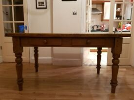 Farm house table,5×3 seats 6 ,made from re-claimed timber