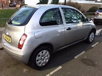 Nissan Micra 2006 06 Auto Automatic car 3dr Fully serviced - 1 year MOT serviced vehicle
