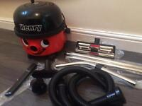 Henry Vacuum Cleaner with Brand New Pipes and Attachments.