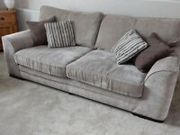 portland 3 seater sofa and chair from scs