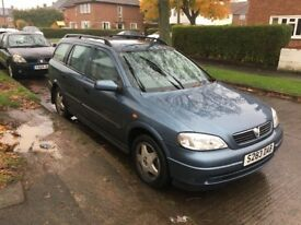 This is my Vauxhall Astra 1.8 patrol