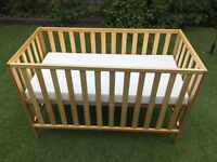 Mothercare Hereford Baby Cot