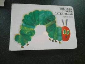 The very hungry caterpillar book - Exeter