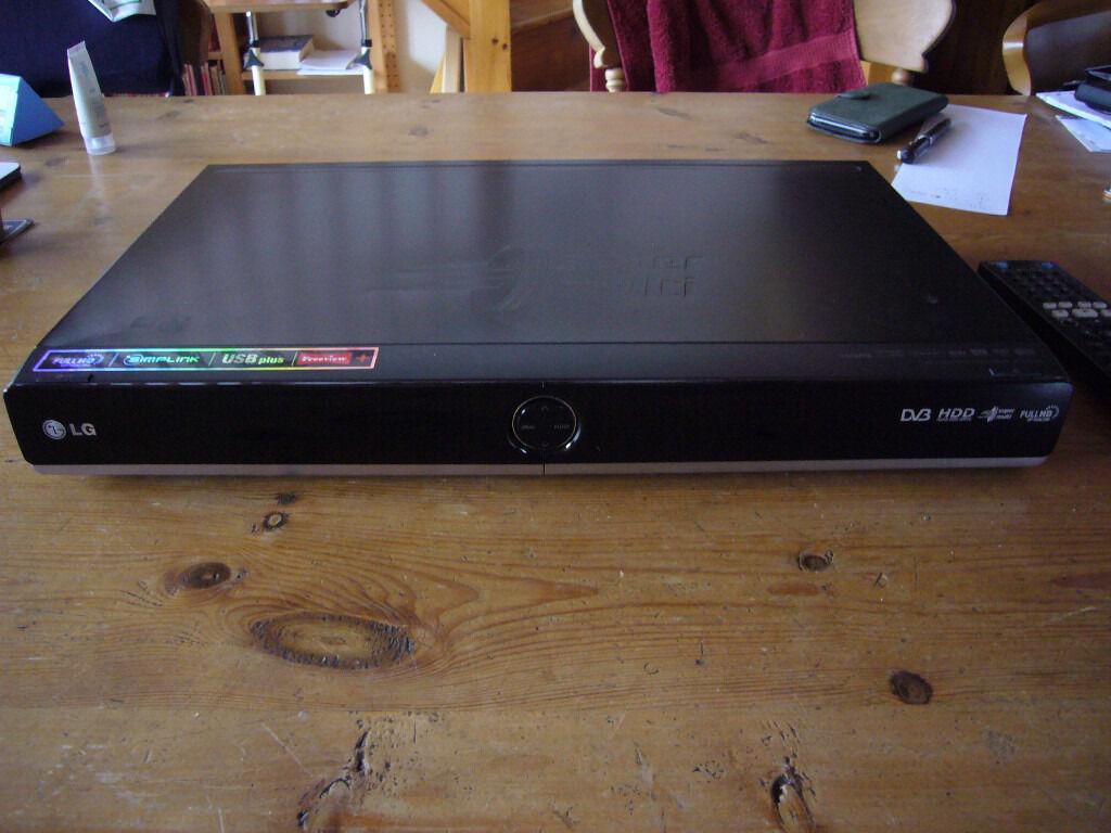LG RHT599H DVD/HDD Recorder 500 Gb Freeview