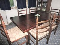Toledo dining table chairs