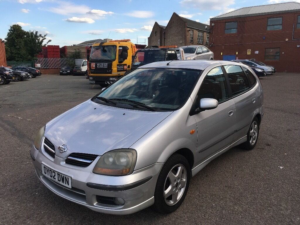 Nissan Almera Tino Automatic Good Runner with history and long mot ...