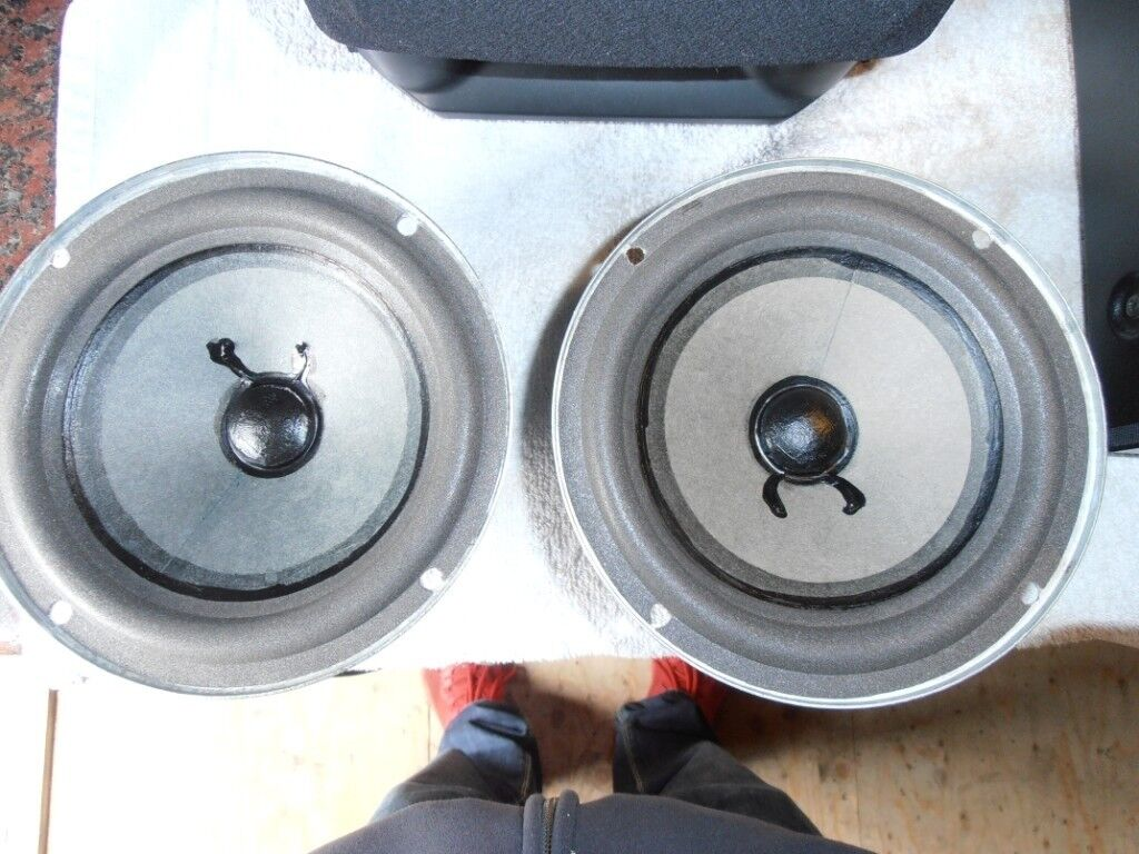 Bose Capella 40 Speakers Bass Drivers Like New 6 5 165mm In