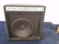 Peavey Bass Combo 115 Amp very powerful in VG condition 250 watts RMS Black Widow speaker