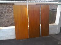 Job lot of doors